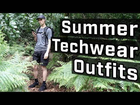Top Techwear Outfits With Shorts thumbnail