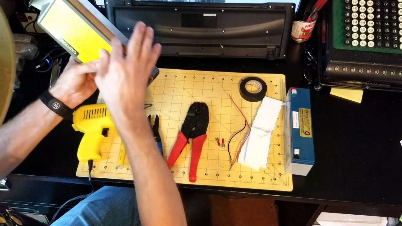 DIY Rechargeable Battery Pack for your PRC-77 Military Radio
