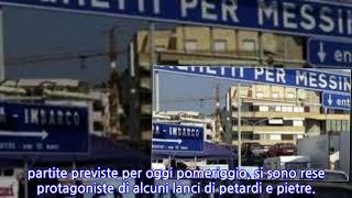 """Villa S. Giovanni, """"tifosi"""" del Catania e del Cosenza si incrociano e si lanciano..."""