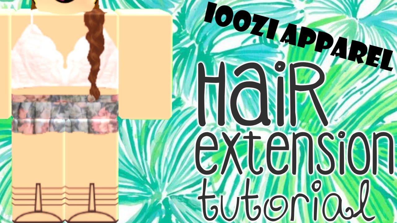braided hair extension tutorial