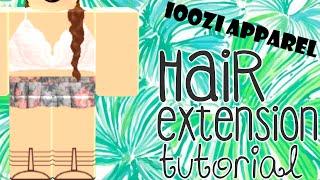 Braided Hair Extension Tutorial    ROBLOX