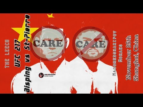 UFC Shanghai Care/Don't Care Preview