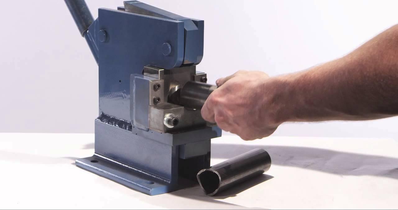 Manual Pipe Notcher - YouTube