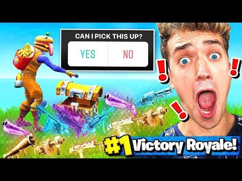VIEWERS *CONTROL* my FORTNITE game (Challenge)