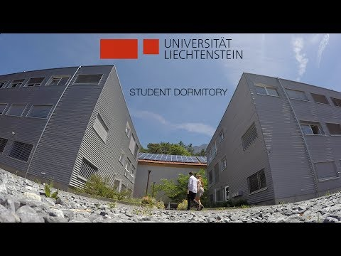Living in the box: University of Liechtenstein, Student dorm