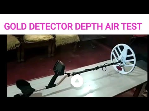FISHER F 75 AIR TEST AND DEPTH CONCEPT IN HINDI