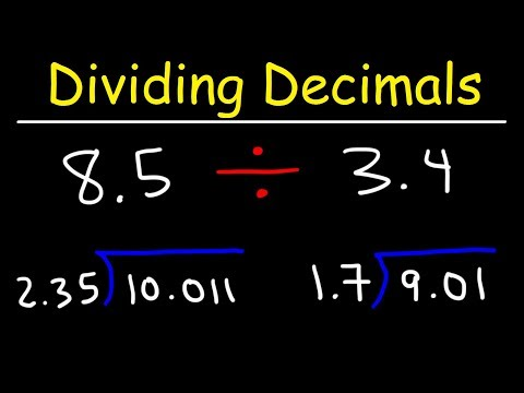 Dividing Decimals - Not So Easy!