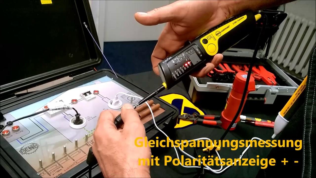 Lastprufer Spannungsprufer 2 Poliger Drehfeldrichtungsanzeiger