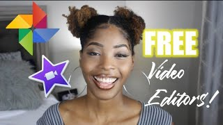 THE BEST FREE VIDEO EDITING SOFTWARE/APPS! | Windows, Chromebook, Apple, & Android Friendly!