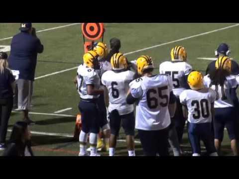 Milpitas Trojans vs Saratoga Falcons 9-23-16