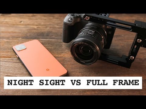 The Google Pixel 4 Versus the Canon RP for Night Photography - Blind Test