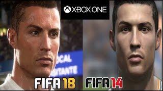 FIFA 18 vs FIFA 14 - Xbox One Graphics Comparison