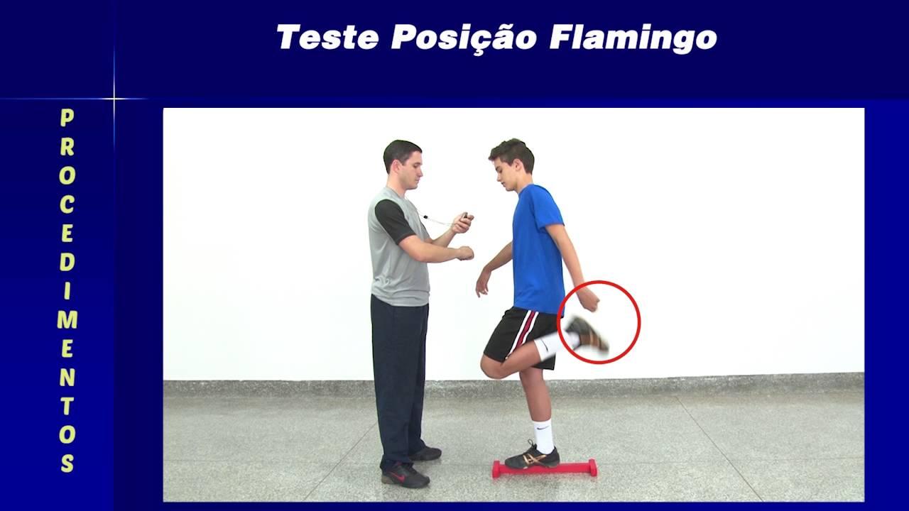Teste posi o flamingo youtube for Test fisioterapia