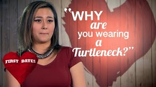Cat Is Not Impressed By Sav's Turtleneck | First Dates