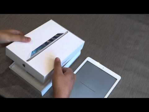 IPad Air 16GB White - Unboxing, Setup & Review