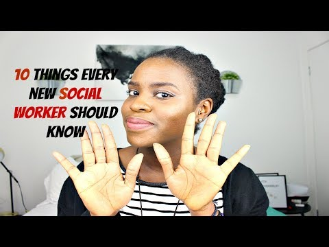 SOCIAL WORK | 10 Things Every New Social Worker Should Know!!!!