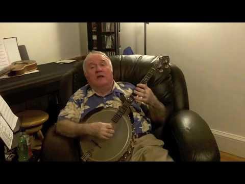 """It's The Good Life"" Eddy Davis Tenor Banjo"