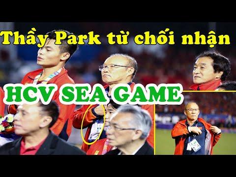 Bất ngờ với lý do thầy Park từ chối nhận HCV SEA Games 30