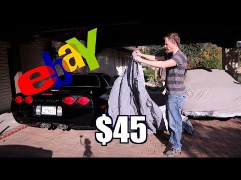 "Corvette ""Custom Fit"" Ebay Car Cover - DOESN'T FIT!"
