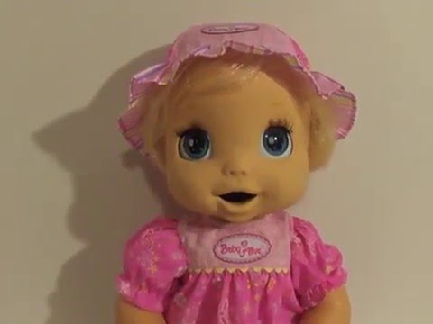 Hasbro 2006 Baby Alive Interactive Doll With Soft Face