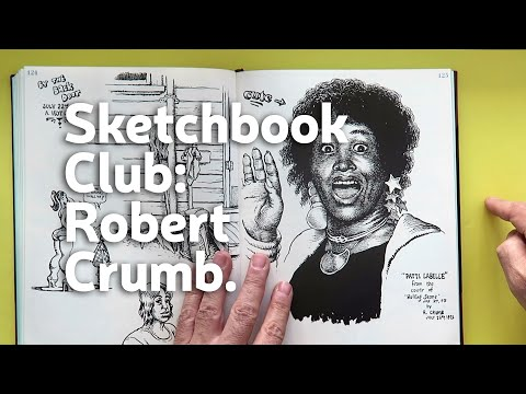 Sketchbook Club 20: Robert Crumb