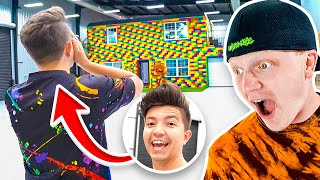 SURPRISING PRESTON With The LEGO HOUSE!