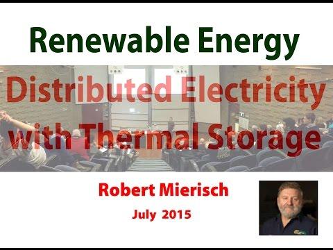 Steam,  Solar and Storage