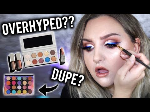 OVERHYPED?? | KKW X MARIO COLLECTION REVIEW, SWATCHES, TUTORIAL + DUPES