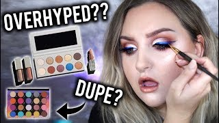 OVERHYPED  KKW X MARIO COLLECTION REVIEW SWATCHES TUTORIAL  DUPES