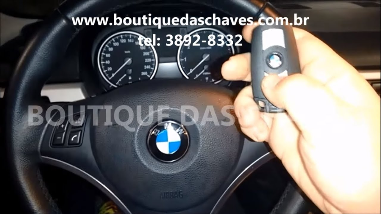 copia de chave bmw 320i youtube. Black Bedroom Furniture Sets. Home Design Ideas
