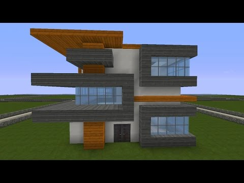 Full download minecraft modernes haus bauen villa for Modernes haus minecraft