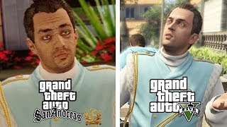 GTA Characters Who Cross The Universe Barrier! ○ GTA Universes Expl...