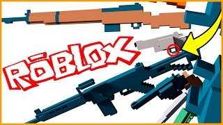 REAL LIFE WEAPONS IN ROBLOX!!