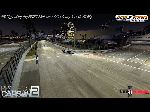 Project CARS 2 | 911 HyperCup by UNITY Motors - M3 : Long Beach (Nuit)