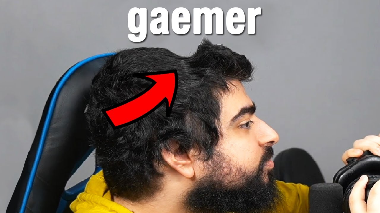 gamer haircut