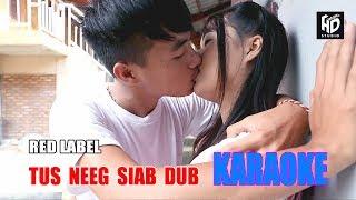 Tus Neeg Siab Dub - Red Label [Official Video Karaoke] คาราโอเกะม้ง 2018