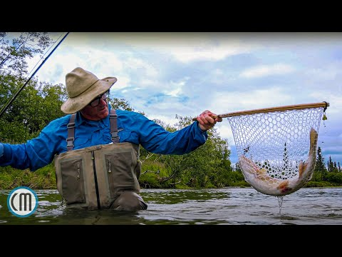 Alaska Fly Fishing With A Mouse Fly - Aniak By Todd Moen