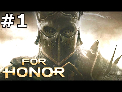 FOR HONOR Story Mode Campaign Part 1 Gameplay on PS4 Pro