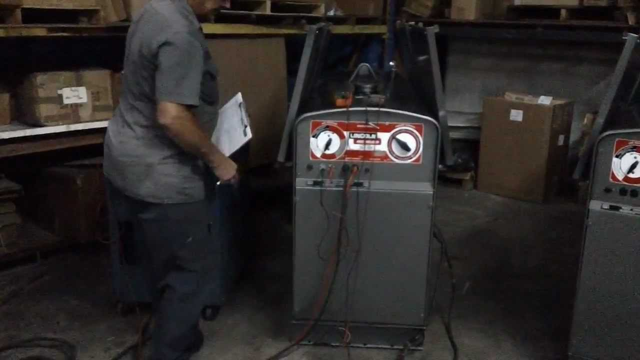 maxresdefault lincoln sae 400 reconditioned 305 593 1476 youtube lincoln welder sae 300 wiring diagram at bayanpartner.co