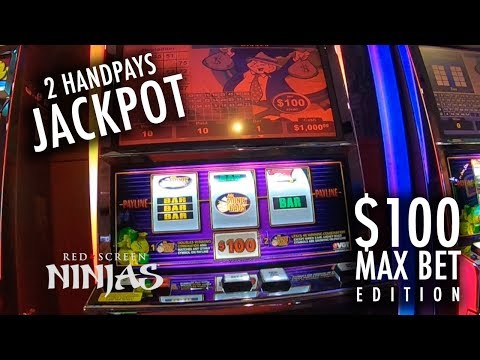 VGT SLOTS - PROGRESSIVE HIT💰!!! MR. MONEY BAGS $100 MAX BET WITH HAND PAYS JACKPOT!!!