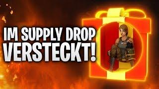 OP FALLE! IM SUPPLY DROP VERSTECKT! 🎁 | Fortnite: Battle Royale