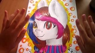 обзор: Рисунки пони #3!  скетч и не дорисовки