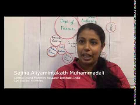 Fisheries governance course: Sajina Aliyamintakath Muhammadali, India