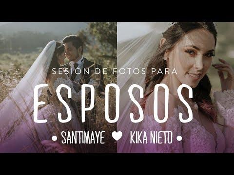 SESIÓN DE FOTOS DE ESPOSOS CON KIKA NIETO Y SANTIMAYE // JUAN DIEGO JOHNS // VLOG