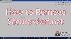 How to Remove Secure-Surf.net from All Browsers
