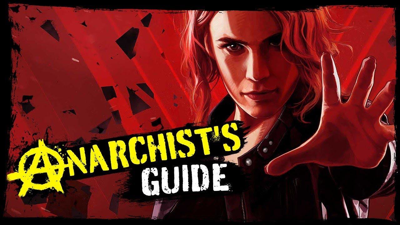 Kontrolle: Ein anarchistischer Leitfaden für paranatürliche Kräfte + video