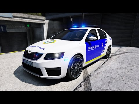 GTA V LSPDFR: Dia 49 Skoda Guardia Urbana de Barcelona