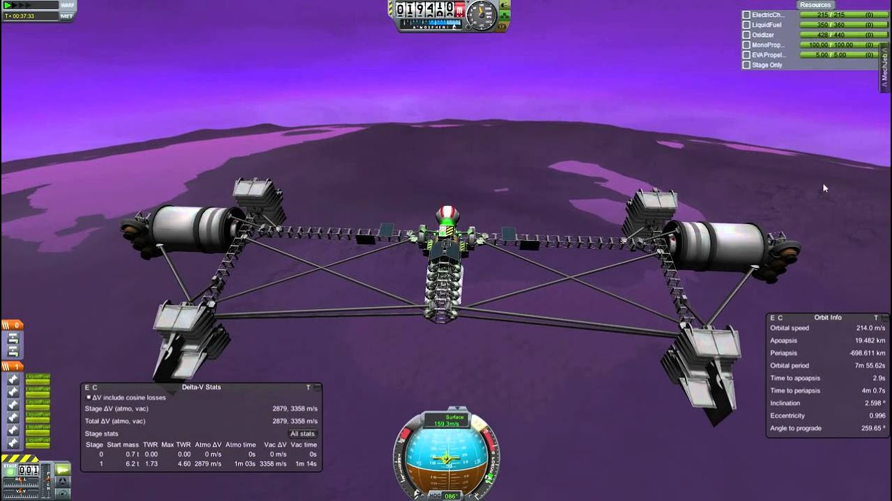 kerbal space program how to make plane