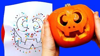 How To Carve 5 Halloween Pumpkins | Pumpkin Carving Tips And Tricks  | Craft Factory