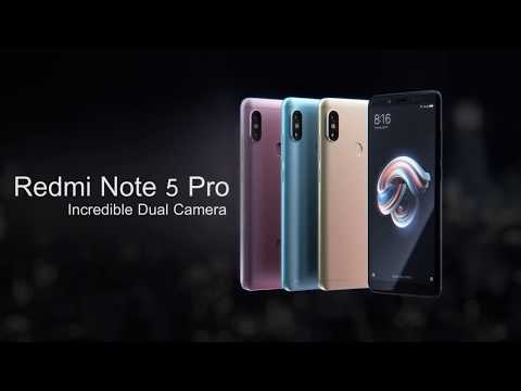 Xiaomi Redmi Note 5 Pro (Official Promo Video)